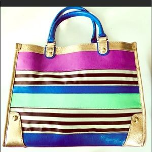 Large Henri Bendel Tote Great Condition
